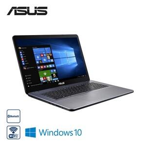 Notebook F705QA-BX031T · Slim HD+-Display · AMD Quad-Core-A12-9720P-Prozessor (bis zu 2,7 GHz) · AMD Radeon R7 Graphics · 2 x USB 2.0 (Type A), 1 x USB 3.2 Gen 1 (Type A), 1 x USB 3.2 Gen 1 (Type