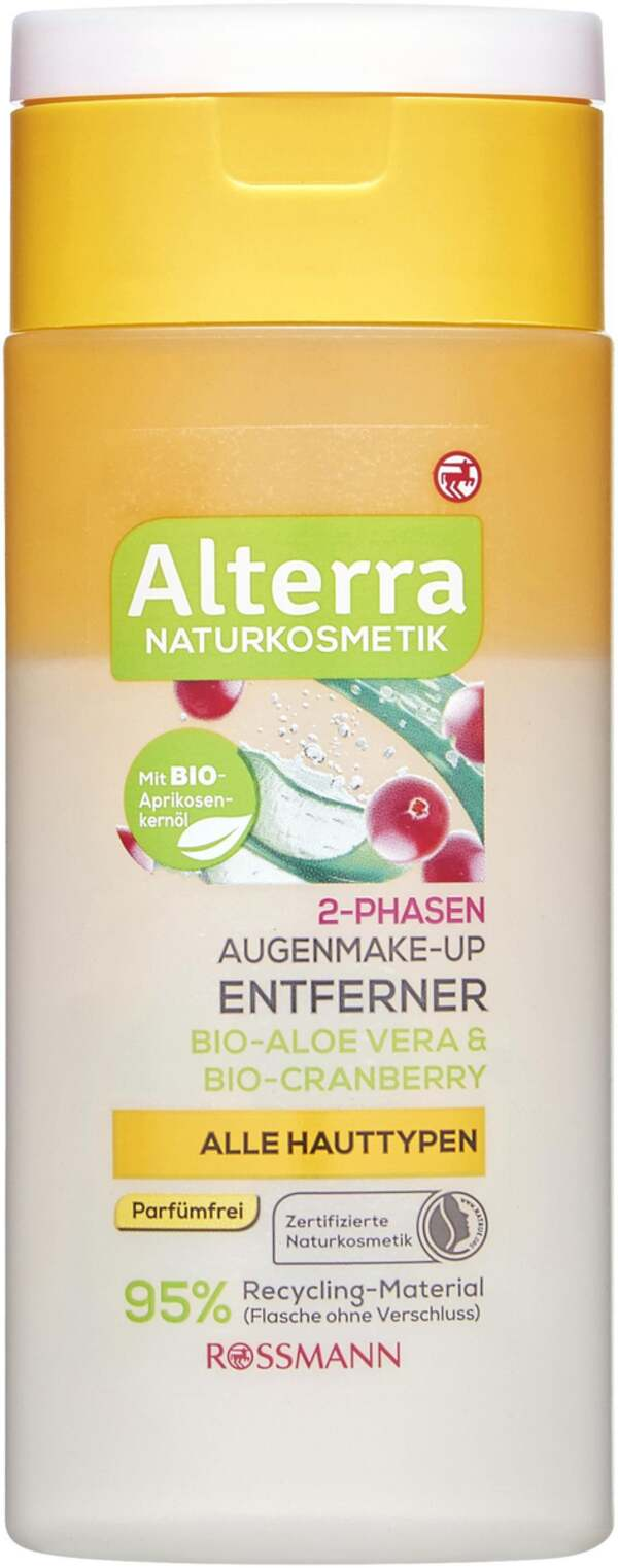 Alterra 2-Phasen Make-up Entferner