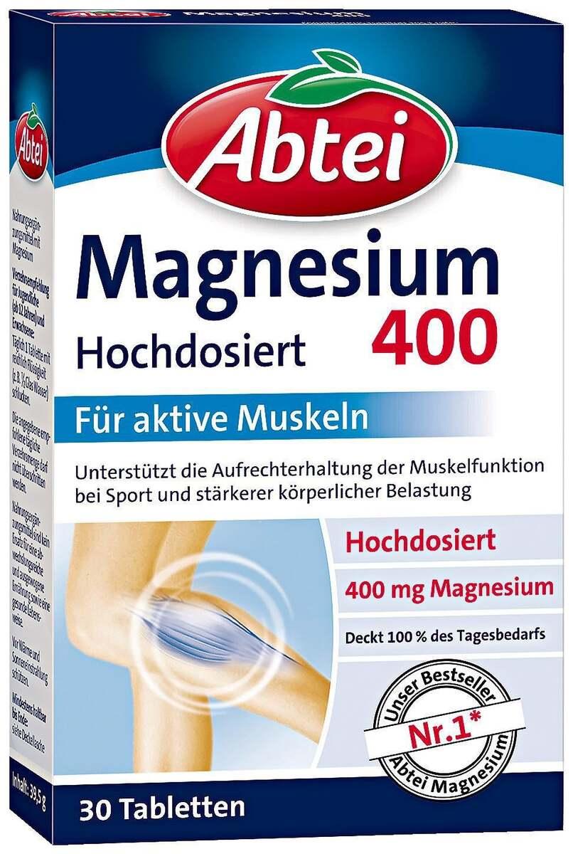 Bild 1 von Abtei Magnesium 400 Tabletten