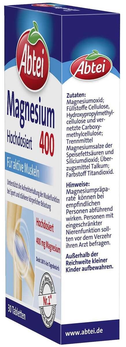 Bild 2 von Abtei Magnesium 400 Tabletten