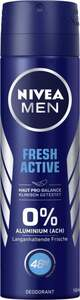 NIVEA MEN Deodorant Spray Fresh Active