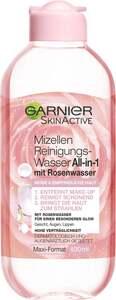 Garnier SkinActive Mizellen Reinigungswasser All-in-1 mit Rosenwasser