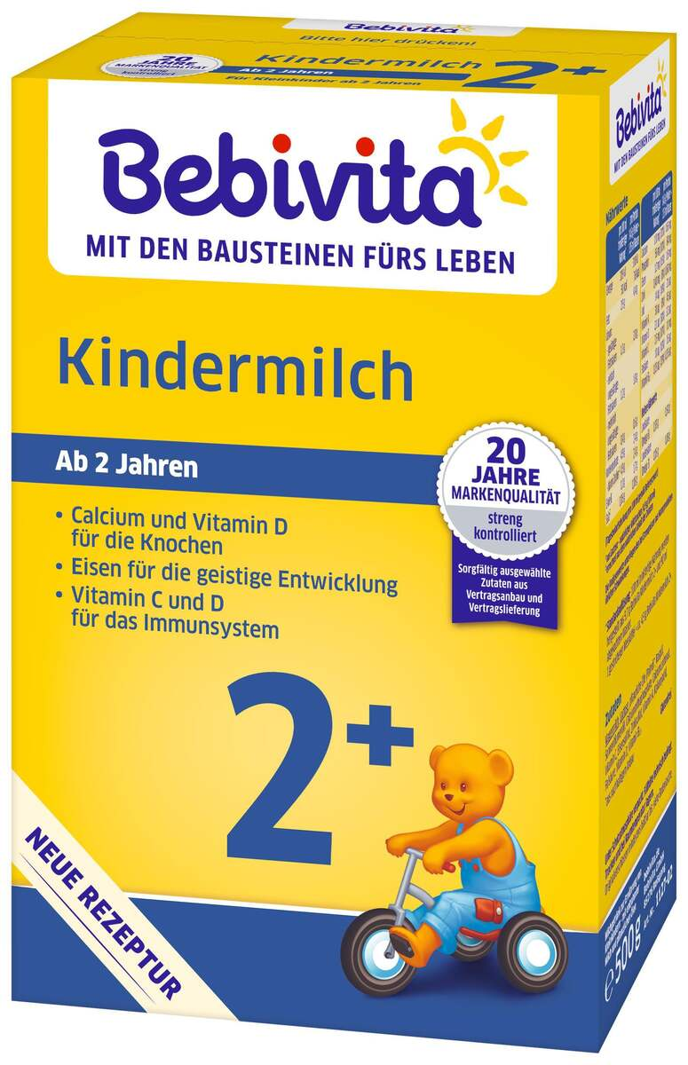 Bild 2 von Bebivita Kindermilch 2+