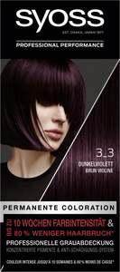 Syoss Professional Performance permanente Coloration 3_3 Dunkelviolett