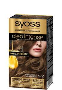 Syoss Professional Performance oleo intense permanente Öl-Coloration 6-10 Dunkelblond