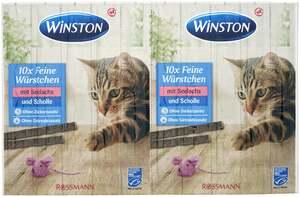 Winston 10 Feine Würstchen mit Seelachs und Scholle