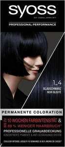Syoss Professional Performance permanente Coloration 1_4 Blauschwarz