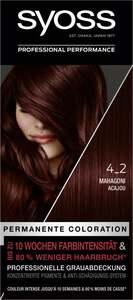 Syoss Professional Performance permanente Coloration 4_2 Mahagoni