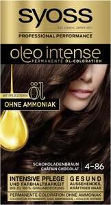 Syoss Professional Performance oleo intense permanente Öl-Coloration 4-86 Schokoladenbraun