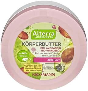 Alterra Körperbutter Bio-Avocado & Bio-Mandelöl