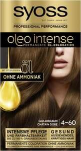 Syoss Professional Performance oleo intense permanente Öl-Coloration 4-60 Goldbraun