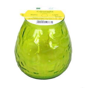 Bistro Glas Citronella in Grün 100 x 105 cm