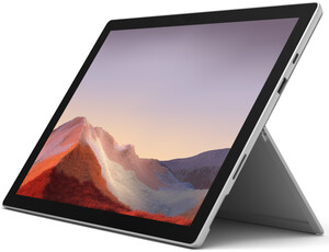 Microsoft Surface Pro 7 256GB platin 2in1 Convertible (12,3 Zoll PixelSense™-Touchscreen, 256 GB SSD, 8 GB RAM, Intel® Core® i5 Prozessor der 10. Generation, Windows 10 Home)