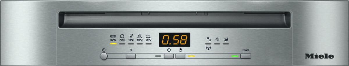 Bild 3 von MIELE G 5210 Sci Active Plus Geschirrspüler (Aquastop, EEK A+++, 14 Maßgedecke, Auto-open-Trocknung, Display, Restzeit-Anzeige, Besteck-Schublade)