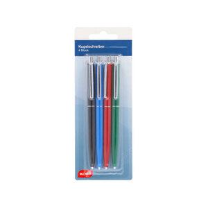 KODi basic Kugelschreiber 4er Pack