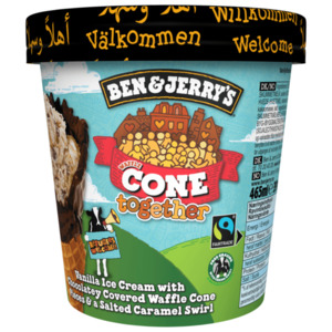 Ben & Jerry's Waffle Cone Together 465ml