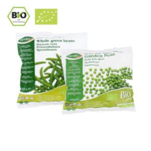 Ardo Bio Markerbsen, Prinzessbohnen oder Blumenkohlröschen