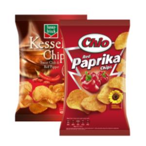 Chio Chips oder funny-frisch Kesselchips