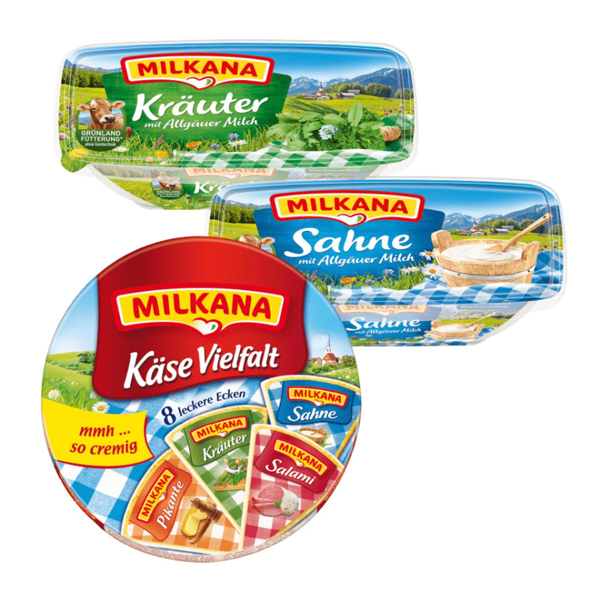 Bild 1 von Milkana Schmelzkäsezubereitung