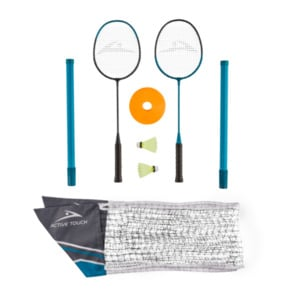 ACTIVE TOUCH  	   Badminton Set mit Standfuß