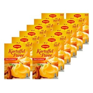 Maggi Kartoffel-Püree für 3 x 500 ml Flüssigkeit, 12er Pack