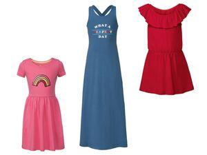 PEPPERTS® Kleid Mädchen, aus reiner Baumwolle