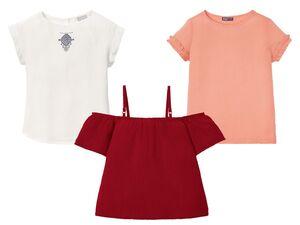 PEPPERTS® Kinder T-Shirt Mädchen, aus Viskose