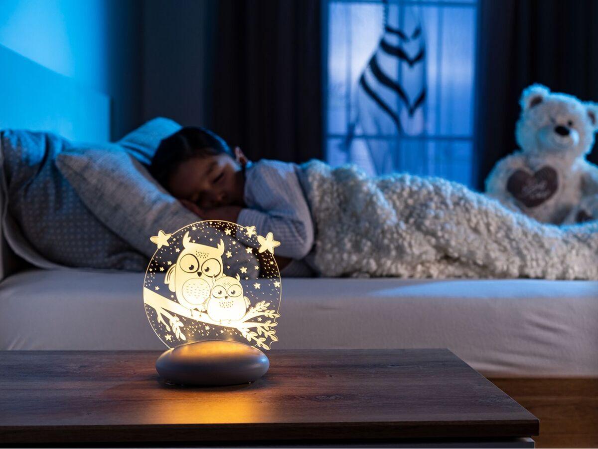 Bild 2 von Reer LED Nachtlicht »Colour Lumy«, mit Farbwechsel, kindgerechte Motive Eule oder Mond