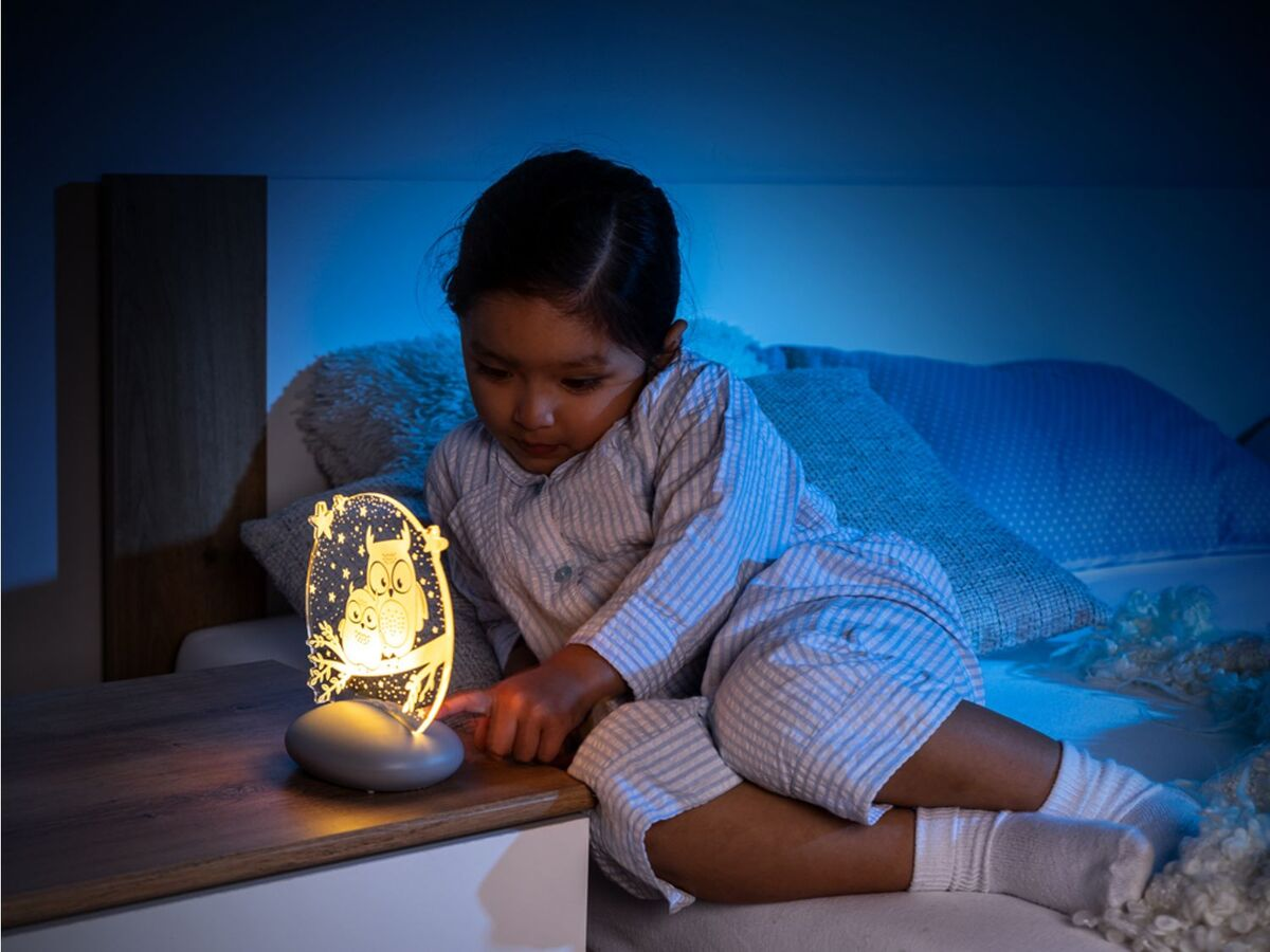 Bild 3 von Reer LED Nachtlicht »Colour Lumy«, mit Farbwechsel, kindgerechte Motive Eule oder Mond