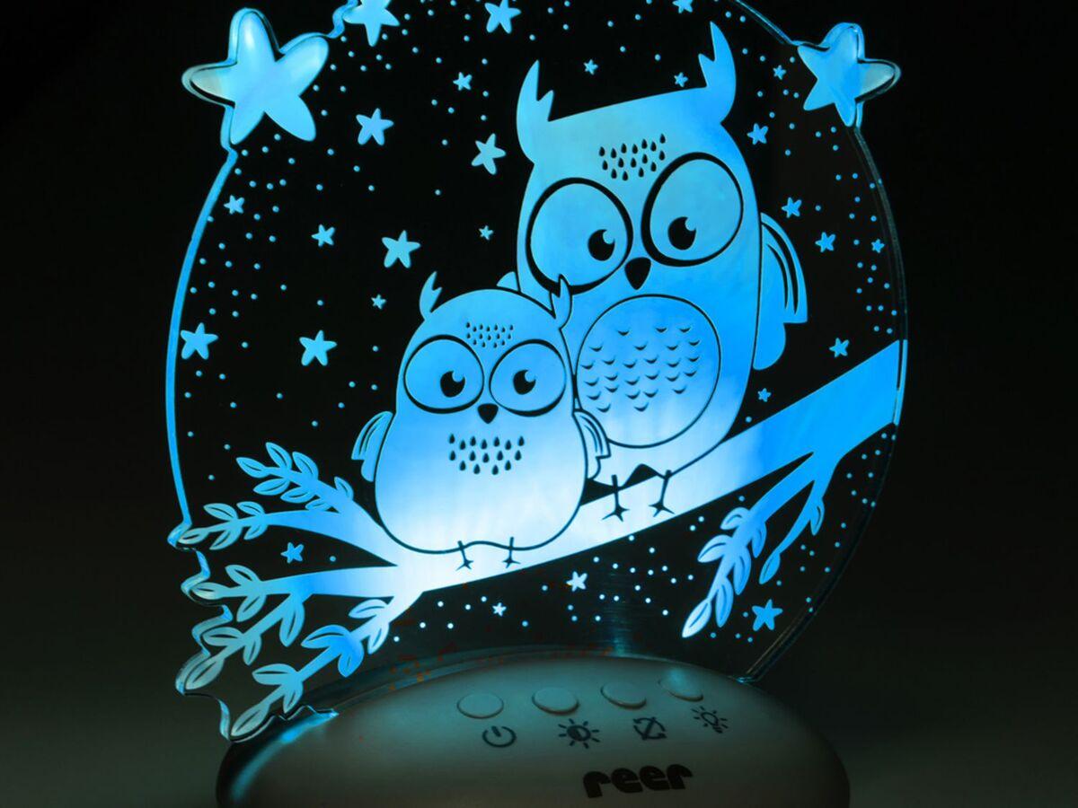 Bild 5 von Reer LED Nachtlicht »Colour Lumy«, mit Farbwechsel, kindgerechte Motive Eule oder Mond