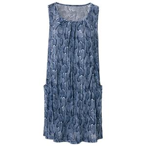 Damen Kleid in Crash-Optik