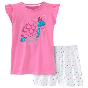 Mädchen Shorty mit Schildkröten-Motiv