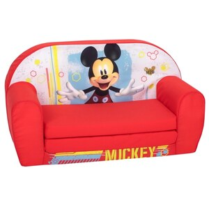 Mickey Mouse Sofa, rot