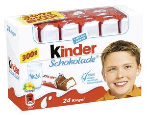 Kinder Schokolade 24er Packung 300 g