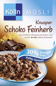 Kölln Müsli Knusper Schoko Feinherb 30% weniger Fett 500 g