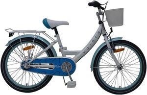 Fahrrad - Volare Nexus 3 - 20 Zoll - weiß/türkis