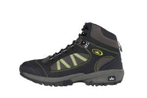 Wanderschuhe/ Trekkingschuhe in verschiedenen Größen, schwarz/ grau/ grün Lico