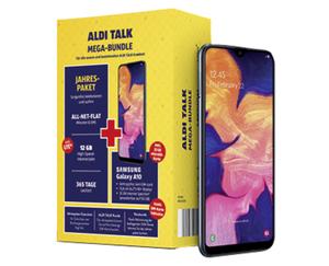Bundle Samsung Galaxy A10 + ALDI TALK Jahrespaket