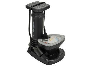 FISCHER  Fuß-Standpumpe Manometer inkl. Adapter
