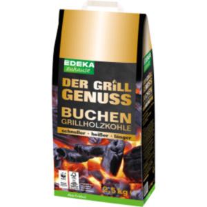 Buchen- Grillholzkohle