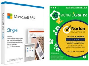 365 Single FPP inkl. Security Deluxe Software