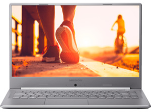 MEDION AKOYA® P6645 Notebook mit Core™ i7, 12 GB RAM, 512 GB & GeForce® MX150 in Silber