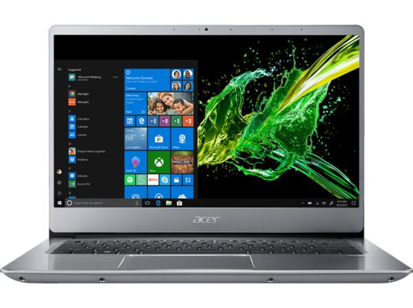 ACER Swift 3 (SF314-56G-75M9) Notebook mit Core™ i7, 12 GB RAM, 512 GB & GeForce® MX250 in Silber