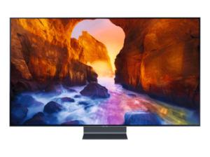 SAMSUNG GQ55Q90RGTXZG,  QLED TV, Schwarz