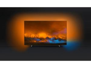 PHILIPS 65OLED804/12,  OLED TV, Chrom