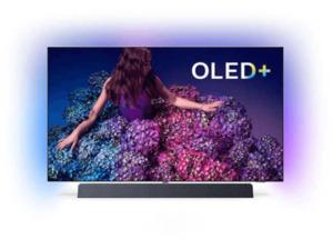 PHILIPS 65 OLED 934/12,  OLED TV, Schwarz