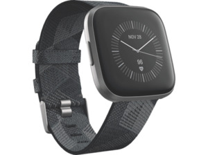 FITBIT Versa 2 (NFC) Special Edition Smartwatch kaufen. Armband: Gewebe, S, L, Farbe Smoke Woven   SATURN