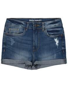 Mädchen Jeansshorts mit Destroyed-Effekten