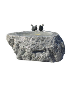 Dehner Granit-Gartenbrunnen Spring, ca. Ø38/H25 cm