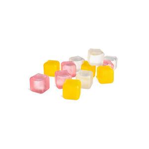 Eiswürfel Silikon, 18er-Set, pastell